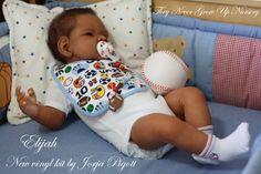 TNGUN Reborn Doll ELIJAH Prototype new vinyl kit by JORJA PIGOTT Big Ethnic Boy…