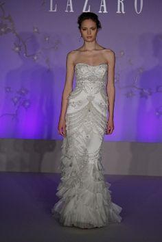Lazaro Dresses :  wedding Lazaro Wedding Dress Fall 2010 3059
