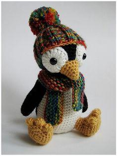 Pingu, amigurumi, toys, penguin.  Very similar crochet pattern for this here:  http://www.etsy.com/listing/76212698/pattern-amigurumi-penguin-english