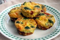 "Omelet ""Muffins"" -- might be tasty and easy for book club menu"