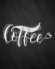 Free Printable Farmhouse Chalkboard Coffee Wall Art - The Cottage Market Coffee Chalkboard, Chalkboard Art, Coffee Wall Art, Good Morning Images Hd, White Coffee Cups, Creative Poster Design, Chalkboard Designs, Coffee Logo, Hand Lettering Quotes