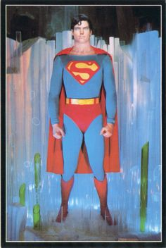 "Christopher Reeve in ""SUPERMAN THE MOVIE"" Movieland Wax Museum"