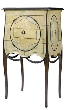Art Decó Ebony Commode (c.1912) Design by Paul Iribe and Clement Rousseau, France