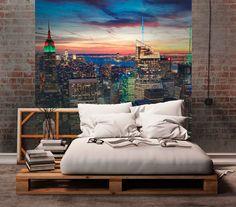 Fototapeta NY | DIMEX Wall Murals, Bed, Inspiration, Furniture, Home Decor, Wallpaper Murals, Biblical Inspiration, Decoration Home, Murals