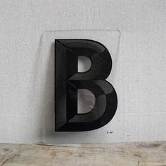 Vintage Sign Letter B : Mid Century Design Alphabet City, Alphabet And Numbers, Cool Lettering, Typography Letters, Object Photography, Letter B, Wood Letters, Mid Century Design, Vintage Signs