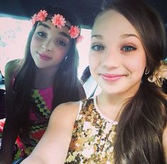 Dance Moms Kendall and Maddie. They are SO beautiful:)