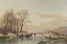 http://upload.wikimedia.org/wikipedia/commons/d/d3/Andreas_Schelfhout_-_Een_bevroren_vaart_bij_de_Maas.jpg