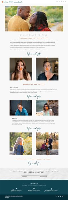 Blomquist Photography Editing and Retouching Page by Whiskey and Red