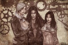 SDA: Bella, Jack and Fran by Maelora69