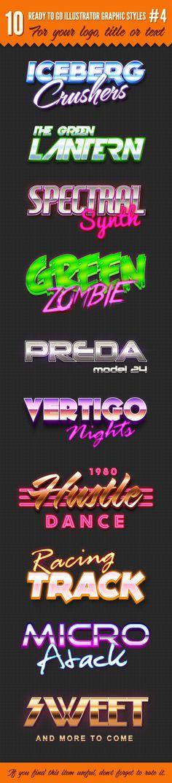 10 Logo Graphic Styles #4 by Vlad Cristea, via Behance