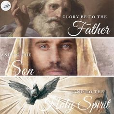 """Catholic Gentle Woman on Instagram: """"SOLEMNITY OF THE MOST HOLY TRINITY: TRINITY SUNDAY COLLECT PRAYER: God our Father, who by sending into the world the Word of truth and the…"""" Roman Catholic, Jesus Christ, Prayers, Father, Sunday, God, Woman, Movie Posters, Instagram"""