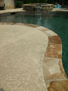 Pool Deck Concrete Resurfacing   Traditional   Patio   Atlanta   Concrete  Resurfacing Products