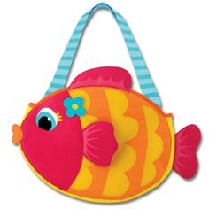 AWE!!! - Kids beach bag with sand play set shark frog pirate butterfly with monogram embroidery