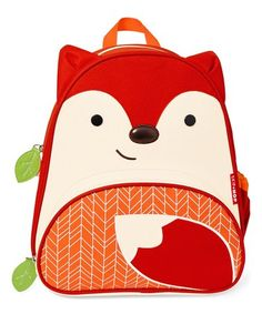 Another great find on #zulily! Red & Orange New Fox Zoo Backpack #zulilyfinds