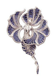 Van Cleef & Arpels Océanide clip by Van Cleef & Arpels, via Flickr✿≻⊰❤⊱≺✿