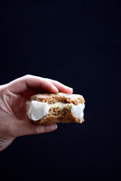 This Rawsome Vegan Life: peanut butter cookie + banana ice cream sandwiches.
