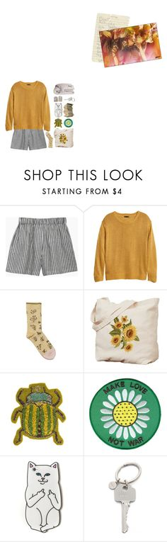 """- I'm gonna make you bend and break"" by turn-the-lights-off ❤ liked on Polyvore featuring le vestiaire de jeanne, H&M, Bonne Maison, RIPNDIP, Paul Smith and DOWNLITE"