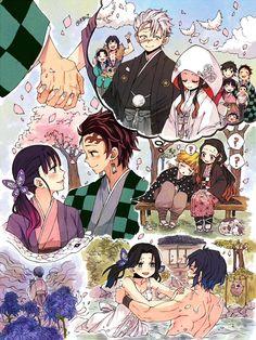 kimetsu no yaiba Manga Anime, Anime Ai, Anime Meme, Kawaii Anime, Slayer Meme, Demon Hunter, Dragon Slayer, Cute Anime Couples, Animes Wallpapers