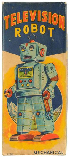 Television Robot Packaging