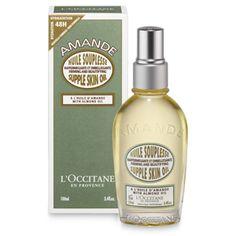 Organic Almond Oil For Skin │ Almond Supple Skin Body Oil L'Occitane *got*