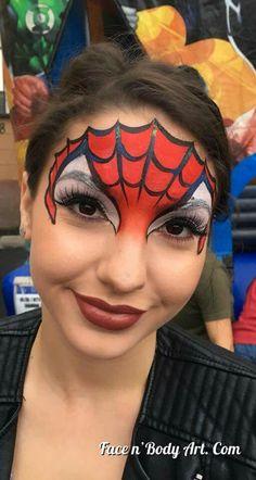 Les 44 meilleures images de Maquillage Spiderman en 2019
