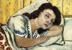"Henri Matisse - ""Portrait of Marguerite Asleep"", 1920"