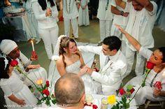 Imagens de um casamento umbanda