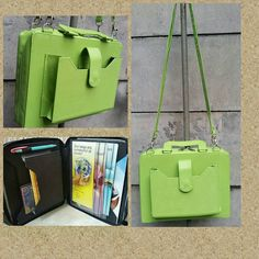 Lime Green All in One Service Bag by JWministrysupplies on Etsy