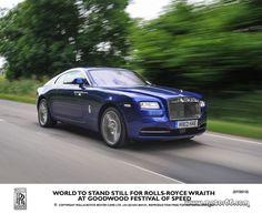 Rolls-Royce Wraith en el Goodwood Festival 2013