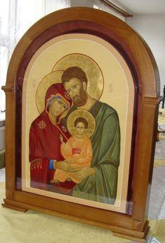 Holy Family, Holi, Jesus Christ, Faith, Painting, Sagrada Familia, Painting Art, Holi Celebration, Paintings