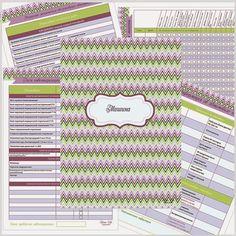 Скачать бесплатно контрольные списки уборки, организации, планирования, меню, чек-листы покупок, финансовый органайзер