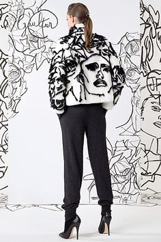 Jean Paul Gaultier - Ready-to-Wear - 2014 Pre-Fall   cynthia reccord