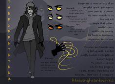 Puppeteer: Character Sheet by BleedingHeartworks on deviantART
