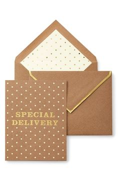 kate spade new york 'special delivery' card available at #Nordstrom