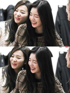 RED VELVET - Irene #아이린 (Bae JuHyun #배주현) #배추 & Kang SeulGi #강슬기 #슬기 141024…