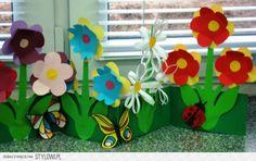 Stage Props, Festival Decorations, Flower Crafts, Gift Boxes, Fun Stuff, Decoupage, Kindergarten, 1, Garden