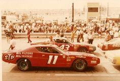 Buddy Baker Petty Dodge 1972