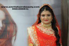 Hire us for best Bridal Makeover in Udaipur. Just call on: 9461088831 or visit: http://www.amritshairnbeauty.com