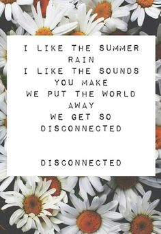 #5SecondsOfSummer #5sos #Lyrics #Quotes #Disconnected