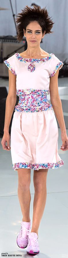 Chanel Spring 2014 Couture www.vogue.com/...  The House of Beccaria