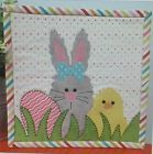 Easter Mug Rug Pre-cut Applique Kit, Sewing Kit , Sewing Quilt Kit