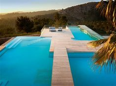 The Chameleon Villa in Spain changes its appearance to create a new mood just like the Chameleon lizard does to become camouflaged with its surroundings, o