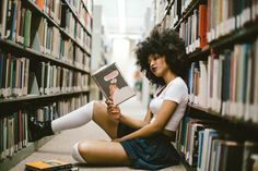Library Vibes Photographer: https://www.instagram.com/kofmotivation/ model: https://www.instagram.com/elaineafrika/