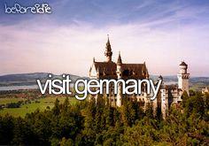Visitar a Alemanha.