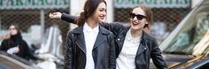Spring Jackets: The Best Bombers, Trench Coats, and Leather Styles