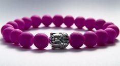 Original Kayleigh Falcus Purply Pink Buddha Bracelet. https://www.facebook.com/kayleighfalcusjewellery