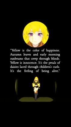Yang the defination of yellow by Crescentphysco.deviantart.com on @DeviantArt
