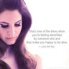 Lana Del Rey- Body Electric