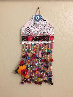 Nazarlık, nazar, pazen, dantel, amulet, turkish eye