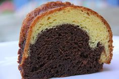 Quick to make Marble bundt cake. Mix and Match Mama- This uses yellow cake mix and vanilla pudding.